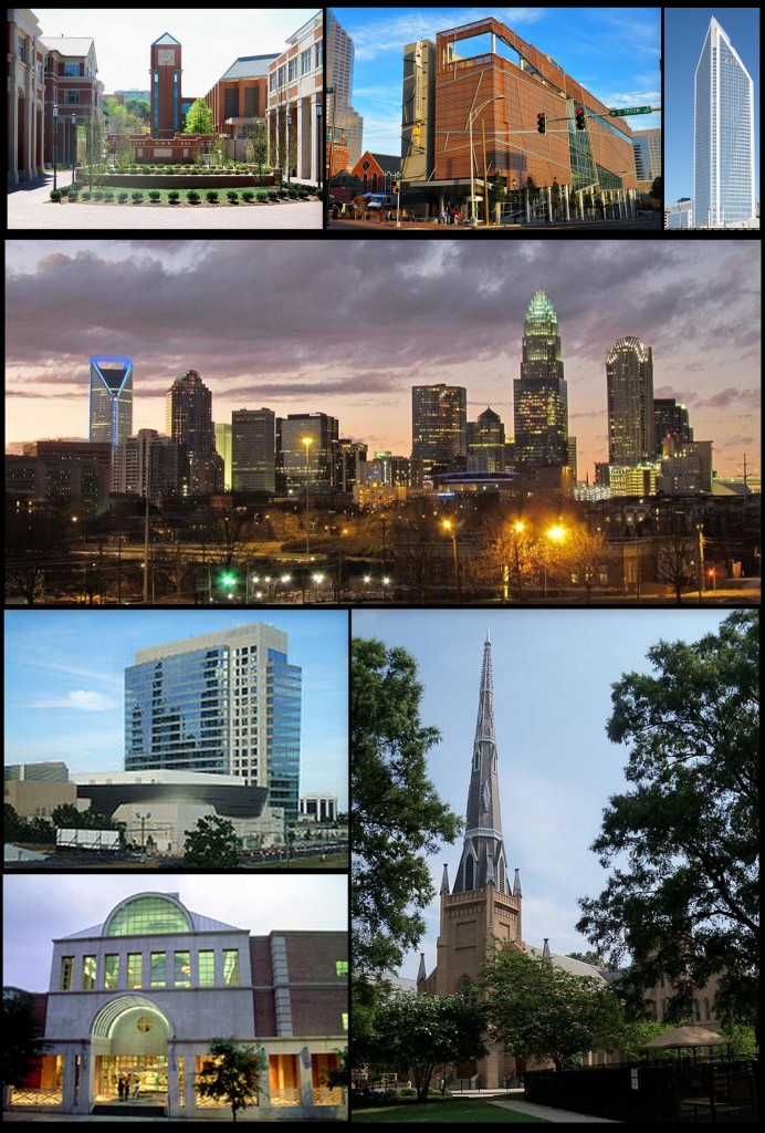 """Charlotte collage"" by Greengrass090 - Own work. Licensed under CC BY-SA 3.0 via Wikimedia Commons - https://commons.wikimedia.org/wiki/File:Charlotte_collage.jpg#/media/File:Charlotte_collage.jpg"